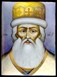 Митрополит Иона Сысоевич (миниатюра - финифть)